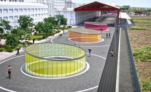 La Asociación del Ferrocarril 'Reino de León' propone llamar a la nueva calle de la Estación 'Paseo del Ferrocarril'