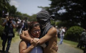 La noche de la Divina Misericordia en Nicaragua