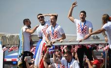 Croacia se vuelca con los subcampeones del mundo