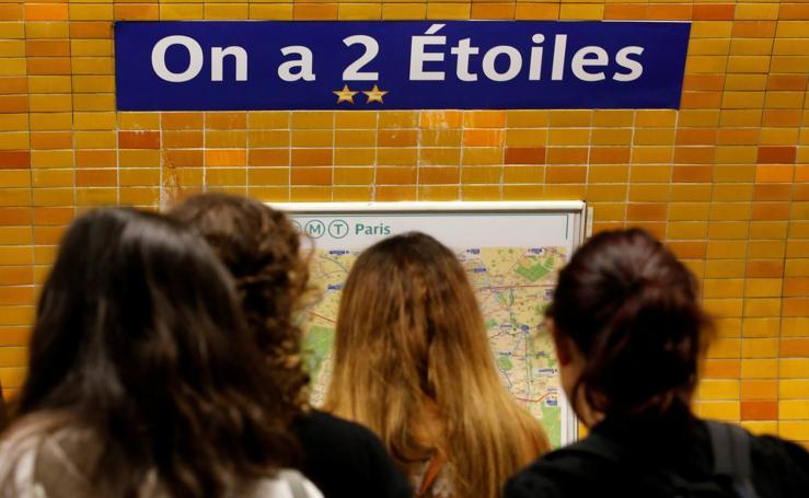 El Metro de París, estaciones en honor al Mundial