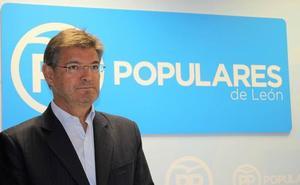 Catalá destaca en León que el proyecto de Casado defiende «la unidad de España y los servicios públicos»