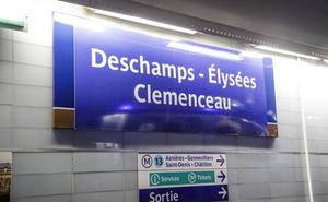 El metro parisino rebautiza seis estaciones en honor a los 'Bleus'
