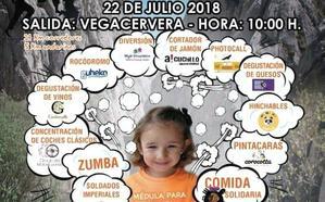 Vegacervera acoge la marcha solidaria 'Una médula para Valeria'
