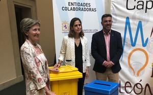 León impulsa una red de 'ecopapeleras' en los establecimientos de la Capital Gastronómica para impulsar el reciclaje