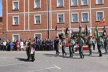 Toma de posesión del nuevo jefe de la XII Zona de la Guardia Civil de Castilla y León