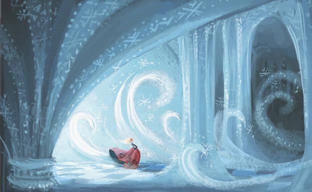 Boceto de 'Frozen'. /© Disney Enterprises Inc.