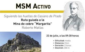 Cistierna acogerá la Ruta de senderismo a la mina de cobre 'Margarita'
