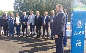 Ábalos anuncia la adjudicación este año de 27 kilómetros del tramo Villanubla-Medina de Rioseco
