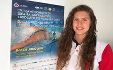 La leonesa Sara Rodríguez Rubio se queda a cinco décimas del podio en el nacional de natación