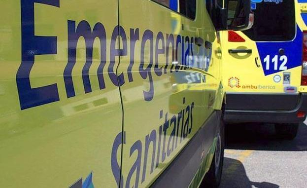 Ambulancia del Servicio de Emergencias 112.