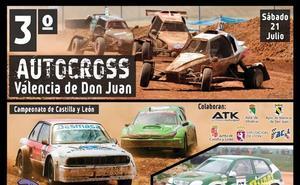 El motor regresa a Los Cucharales con el III Autocross en Valencia de Don Juan