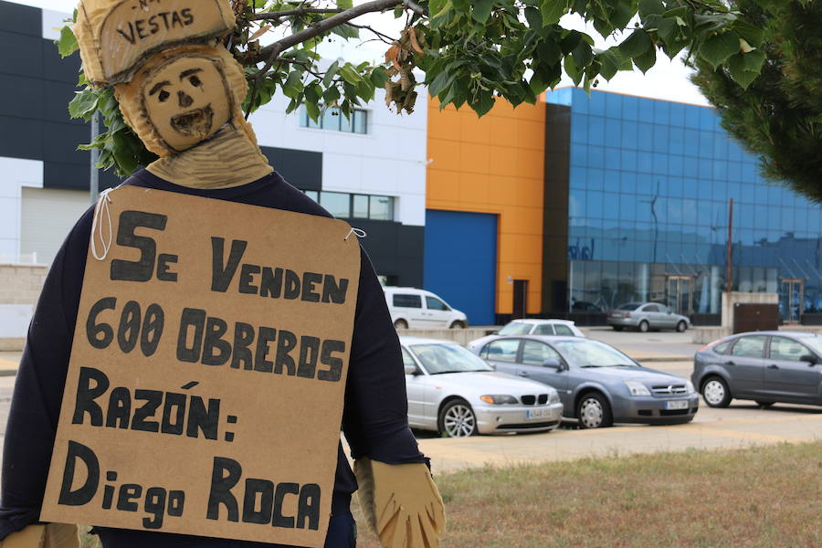 Nueva jornada de protestas ante Vestas