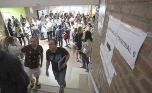 Opositores de Educación Física denuncian «numerosas irregularidades» en la prueba celebrada en León