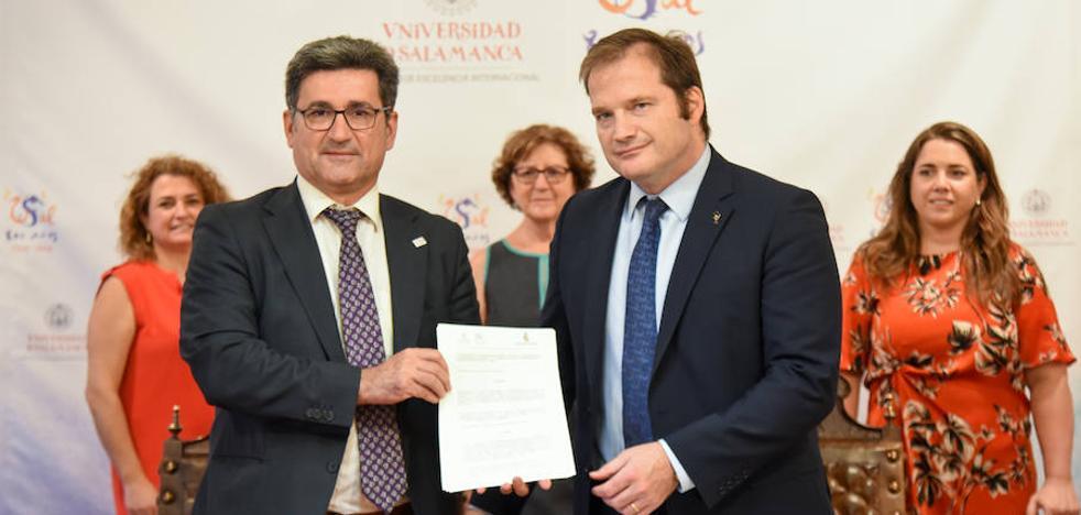 Farmacéuticos de Castilla y León y la Universidad de Salamanca se alían para impulsar investigación conjuntas