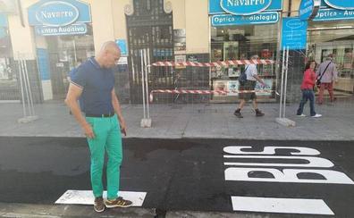El PSOE denuncia las deficiencias de la avenida Ordoño II antes de su apertura