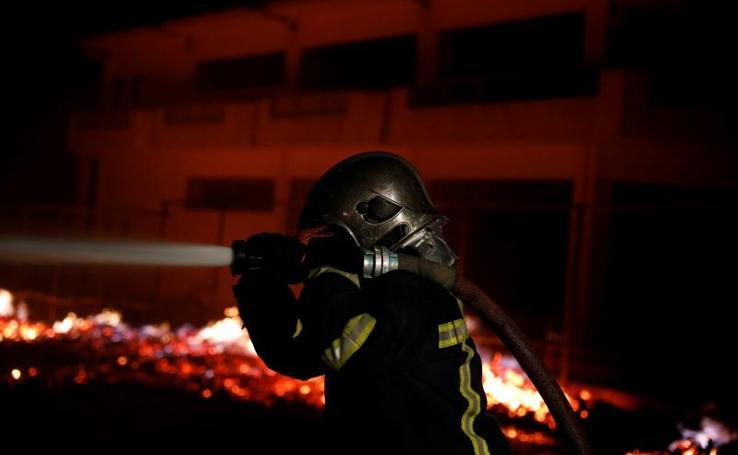 Graves incendios en Grecia