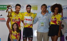 Óscar González 'vuela' en la prólogo de la Vuelta a León