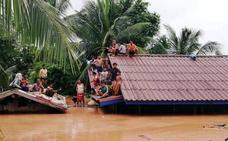 Varios muertos y cientos de desaparecidos tras derrumbarse una presa en Laos