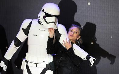 Carrie Fisher aparecerá en el episodio IX de 'Star Wars' con metraje no usado