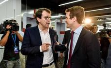 El presidente del PP confía en Castilla y León para cimentar la dirección del partido