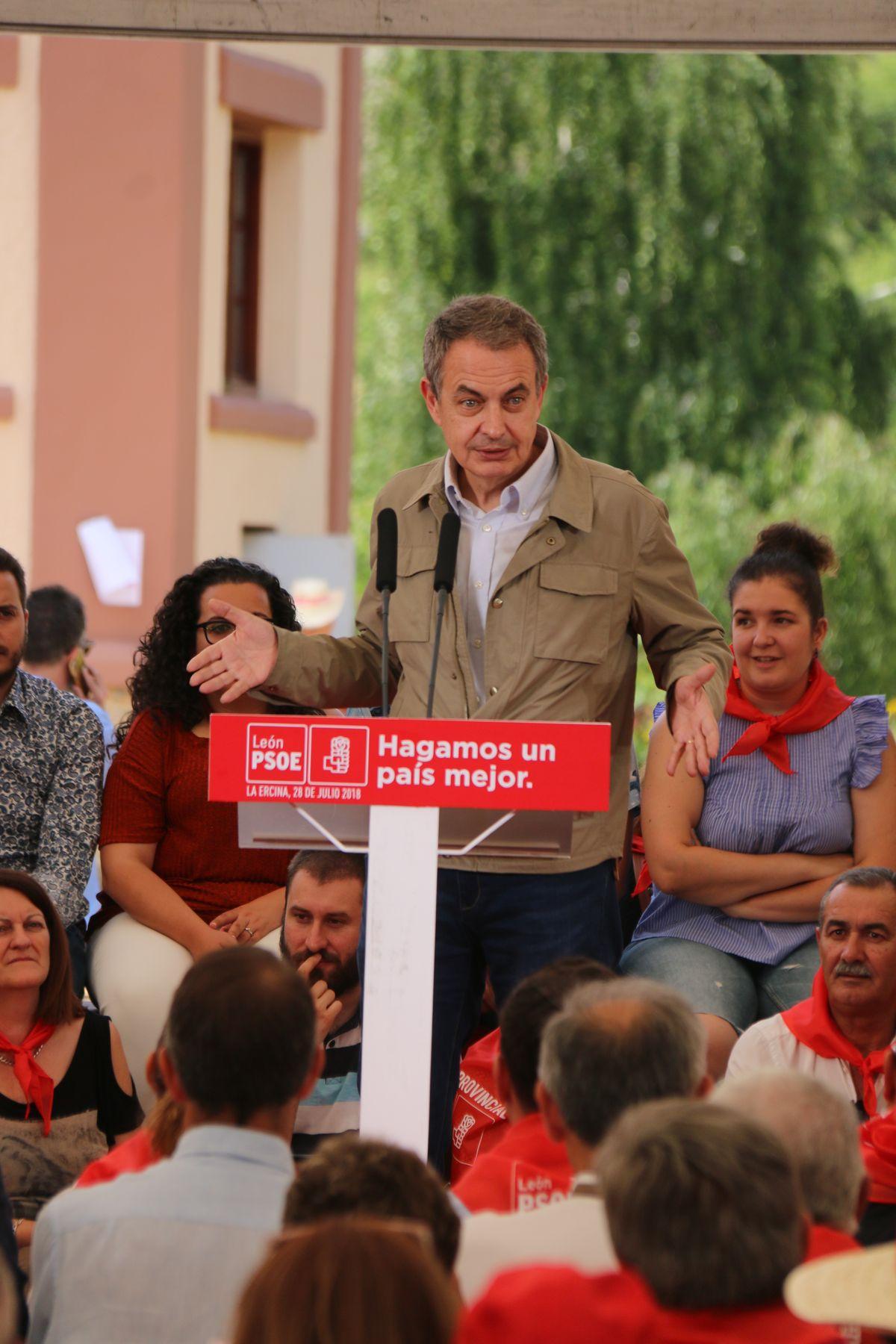 El PSOE celebra su fiesta provincial en La Ercina