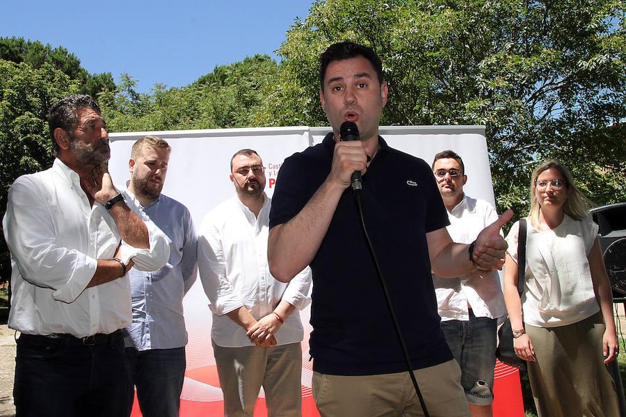 Fiesta de la Rosa del PSOE en Sahagún