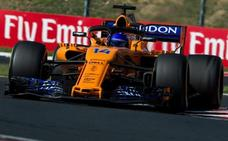 Alonso le da todo el mérito a la estrategia de McLaren