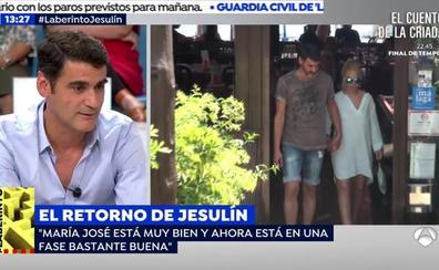 Jesulín de Ubrique habla del estado de salud de María José Campanario