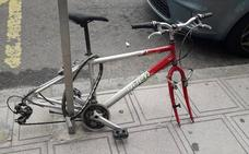 Las bicicletas no están para dormir en las calles leonesas