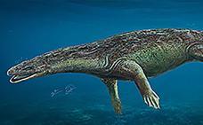 Investigadores españoles descubren un nuevo reptil marino del Triásico