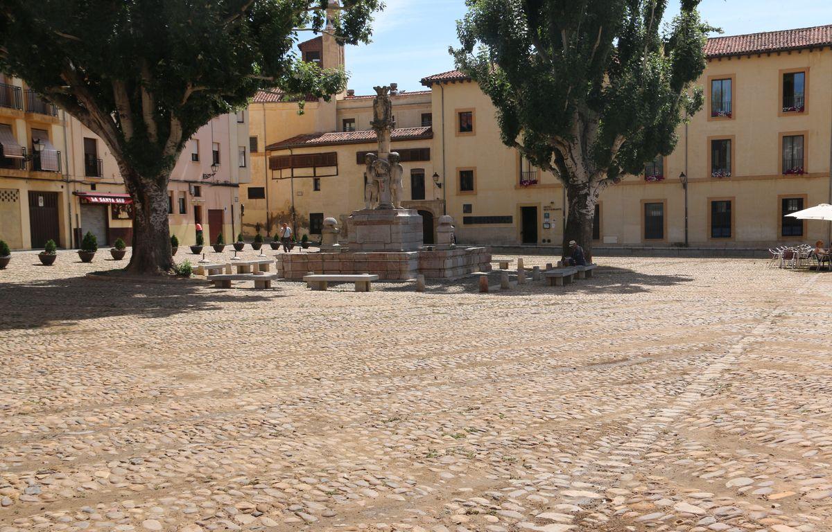 La arena llega a la Plaza del Grano