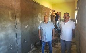 Iniciadas las obras en el Colegio Benito León de Santa María del Páramo con un presupuesto de 121.000 euros