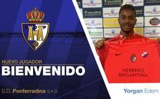 La Ponferradina incorpora al portero sub-20 Yorgan Edem