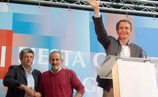 Zapatero y Cendón ofrecen a Matías Llorente su regreso a las filas del PSOE