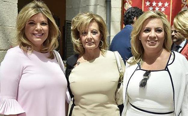 Enfado de Mª Teresa Campos con Telecinco