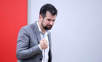 Tudanca asegura que PSOE estará «a la altura» en León y espera que Cs también