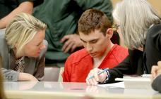 El autor de la matanza de Parkland asegura que escuchaba una voz «diabólica»