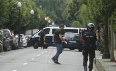 Cortan una calle en Gijón tras recibir un aviso de bomba