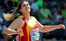 Sabina Asenjo, a un metro de la final