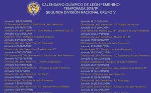 El Olímpico de León Femenino iniciará la temporada frente al Pozuelo de Alarcón