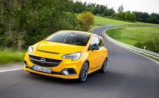Opel Corsa GSi, siglas deportivas