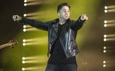 A pedradas contra David Bustamante durante su concierto en Elche
