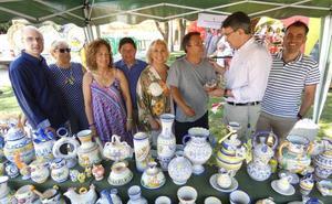Valencia de Don Juan abre su Feria de Cerámica y Artesanía