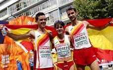 La marcha española brilla en Berlín con un histórico triplete de medallas
