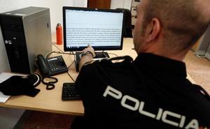 La policía alerta sobre una campaña de 'sextorsión'