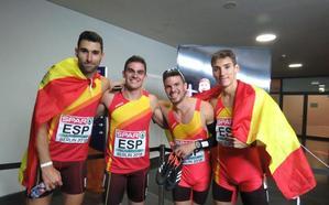 España, bronce europeo en el relevo 4x400