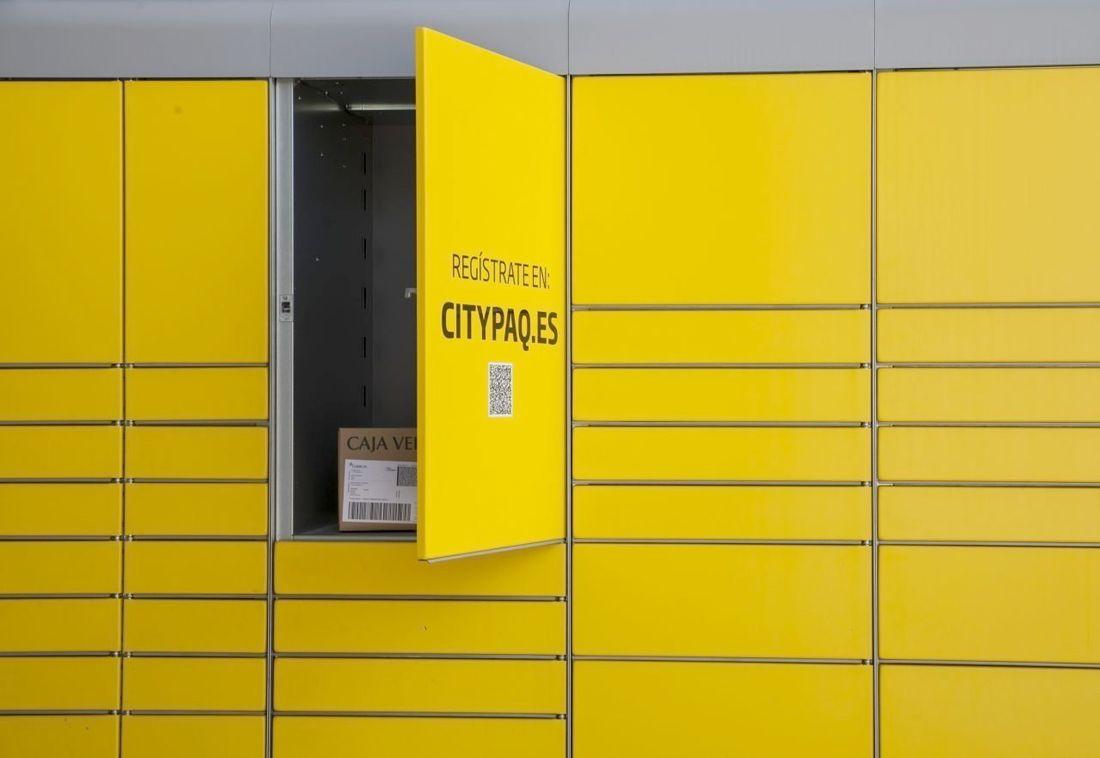 Correos alcanza en León los 28 buzones de paquetería 'Citypaq'