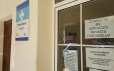 Nueve profesionales de sanidad de León secundan la huelga de Simecal