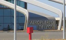 El Aeropuerto de León registra una caída del 22,7% en el número de viajeros el pasado mes de julio