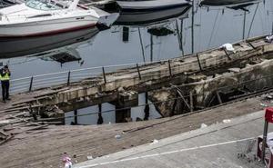 Noche de pánico en Vigo: «Me caí dentro del agujero y me pisaron la cabeza; pero salí como pude»